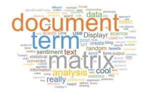 Term document matrix