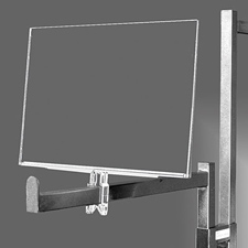 Polycarbonate sign holder (7″ X 11″)