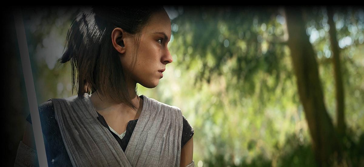 StarWars Battlefront2 Rey