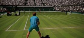 AO Tennis réception de service