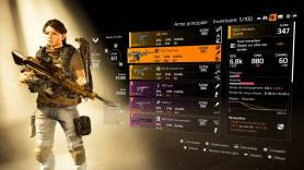 The Division 2 Beta inventaire armes