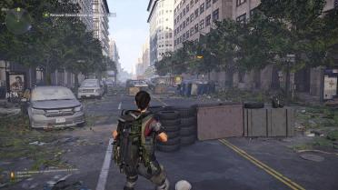 The Division 2 Beta rue barricade
