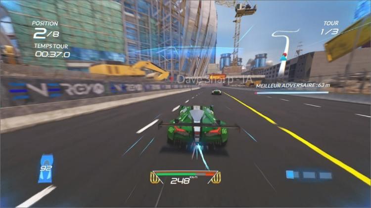Xenon Racer En Course Nitro en action