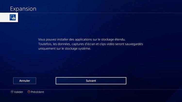 Tuto Ps4 Ajouter un disque dur externe Avertissement