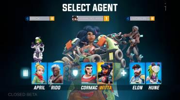 Agents Biohunters choix equipe 2