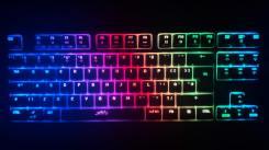 Clavier K4 Souris M4 Accessoire Gaming Xtrfy clavier lumières retroeclairage max fond noir