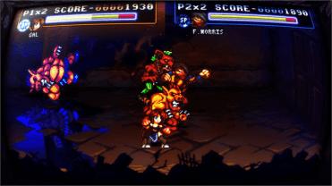 Fight'N Rage Ecran incurvé combat
