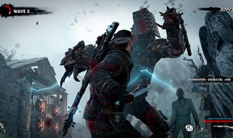 Zombie Army 4 Dead War gameplay vague de zombie