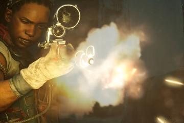 Test Zombie Army 4 Dead War personnage fait feu