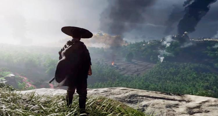 Ghost of Tsushima Jin Vue panoramique