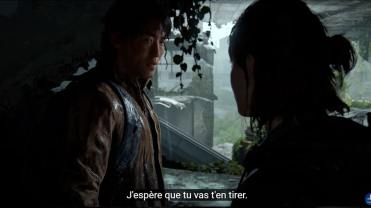 The Last of Us 2 Ellie et allié