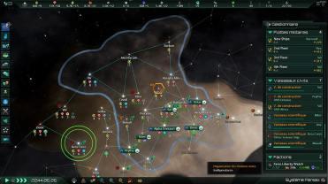 Stellaris_ Console Edition_l expansion est un processus qui qui demande les efforts combines des vaisseaux scientifiques, constructeurs et coloniaux
