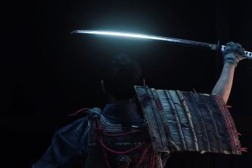 Ghost of Tsushima Jin prend son katana pour accomplir sa destinée