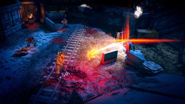 Wasteland 3 combat sur des rails