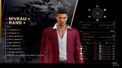 Yakuza Like A Dragon Kasuga augmentation de rang