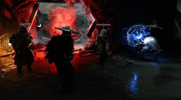 Raid Ghost of Tsushima Chapitre1 Abysse harmonie tempête totems portail