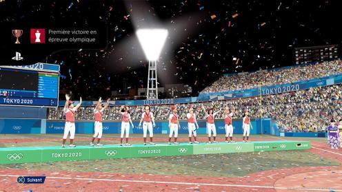JEUX OLYMPIQUES TOKYO 2020 - Un victoire au baseball !