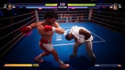 Rocky plie devant la droite de Rocky Creed