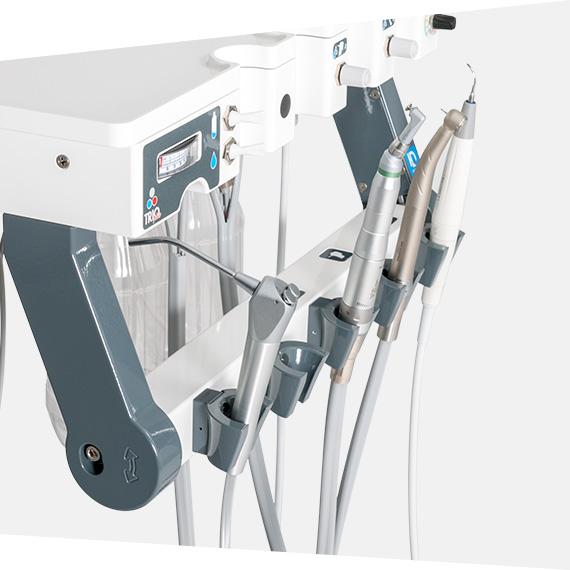 handpiece console adjustment