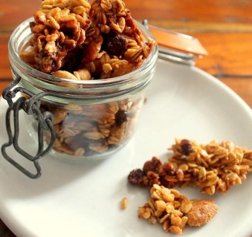 Risultati immagini per granola fatta in casa