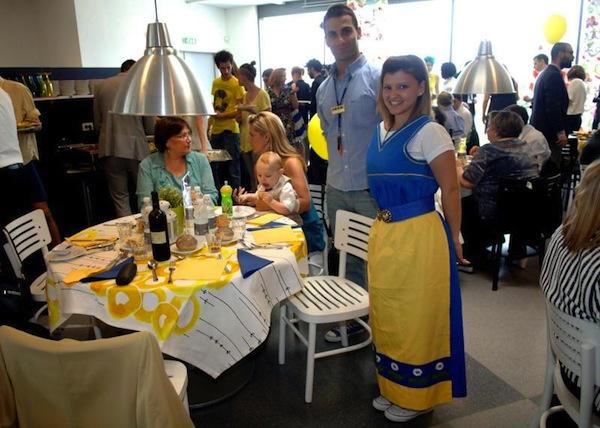Pranzo Di Matrimonio Da Ikea Per Una Coppia Milanese Dissapore