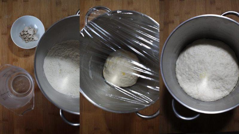 crespelle fritte ciociare impasto