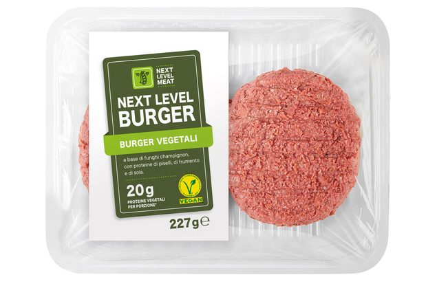 next level lidl burger vegetale carne finta