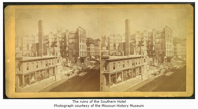 Southern Hotel Ruins