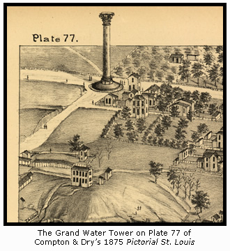 The Grand Water Tower in Compton & Dry