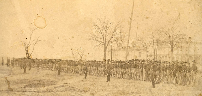 The 2nd Wisconsin Cavalry at Benton Barracks