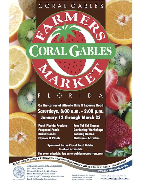 Farmers Market Color Poster & Web Flyer 2013