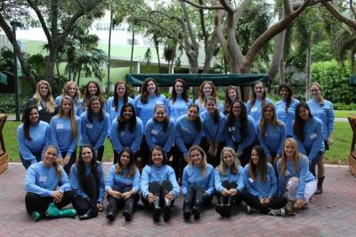 Panhellenic Recruitment involves a group of Rho Gammas, individuals who do not affiliate with their sororities and help guide those who are interested in rushing. Rho Gammas spend the week disaffiliated and reveal their sorority on Bid Day. Source: Facebook Panhellenic at the University of Miami.