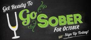 go sober for october