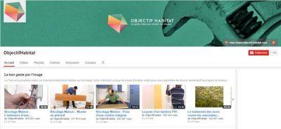 Top 5 chaines You Tubes de bricolage Objectif Habitat