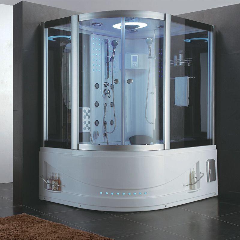 ensemble baignoire douche de luxe hawaii combi bain douche cabine de douche grand luxe distribain
