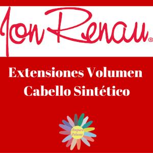 Portada Extensiones Volumen Cabello Sintetico