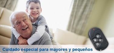 Alarma hogar tyco cuidado para mayores