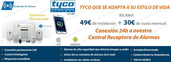 ofertas en alarmas para negocio Tyco mejores precios