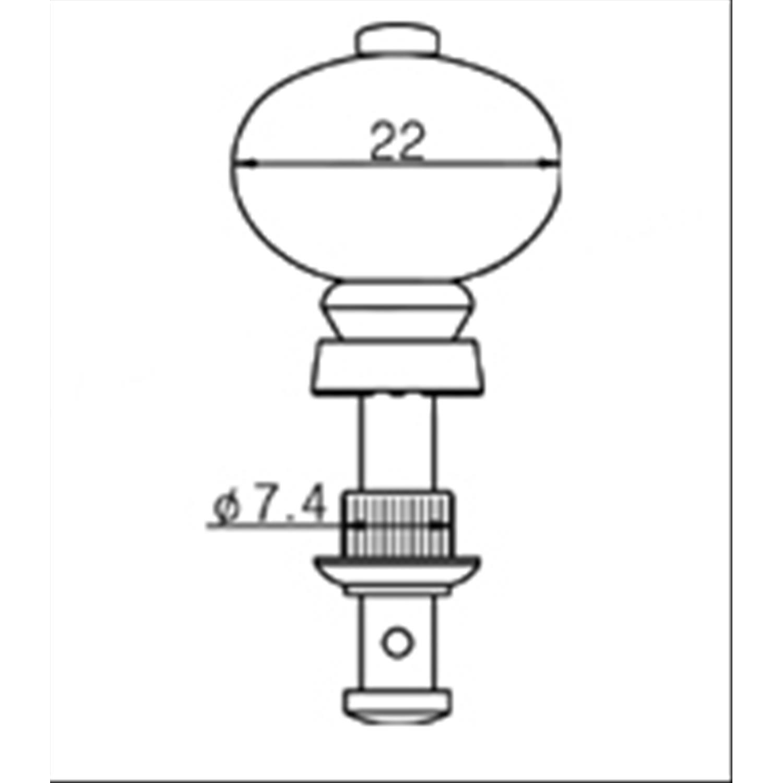 Line Parts Meccaniche Per Ukulele Cromate
