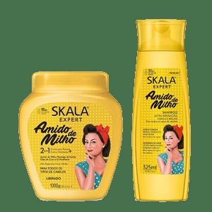 Skala Almidón De Maíz Más Shampoo