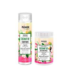 Novex Kit Aceite De Coco Shampoo 300ml y Tratamiento 400gr