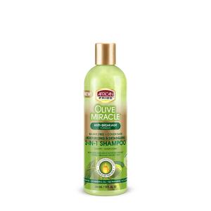 African Pride Olive Miracle Shampoo Moisturizing & Detangling 355ml