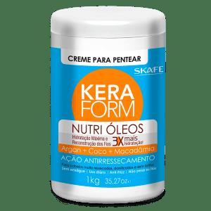 Keraform Crema para Peinar Nutri Oleos 1Kg