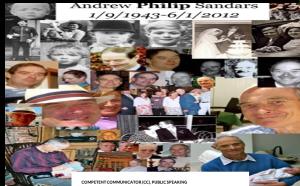 Daniel Sandars eulogy