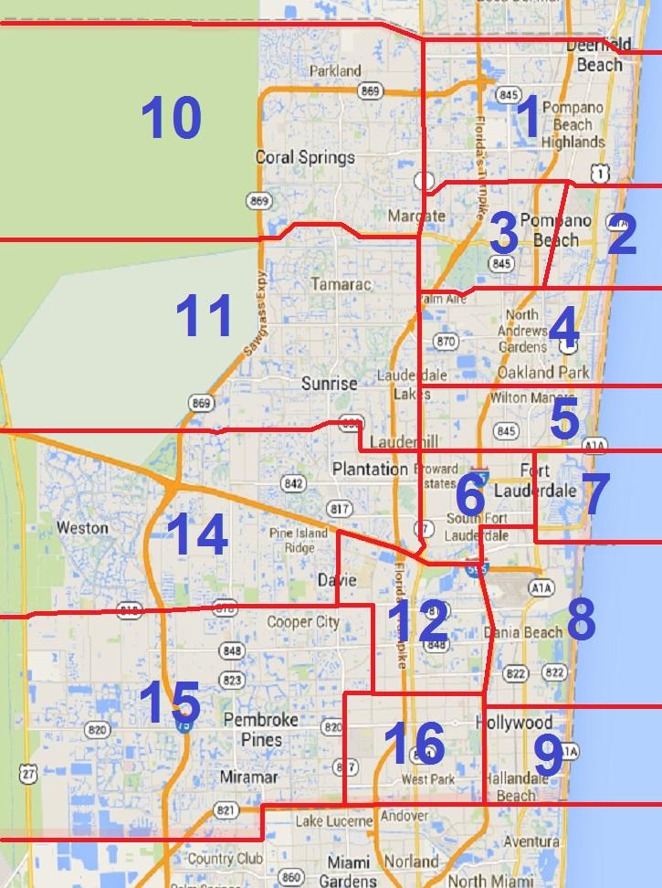 Subdistrict Map