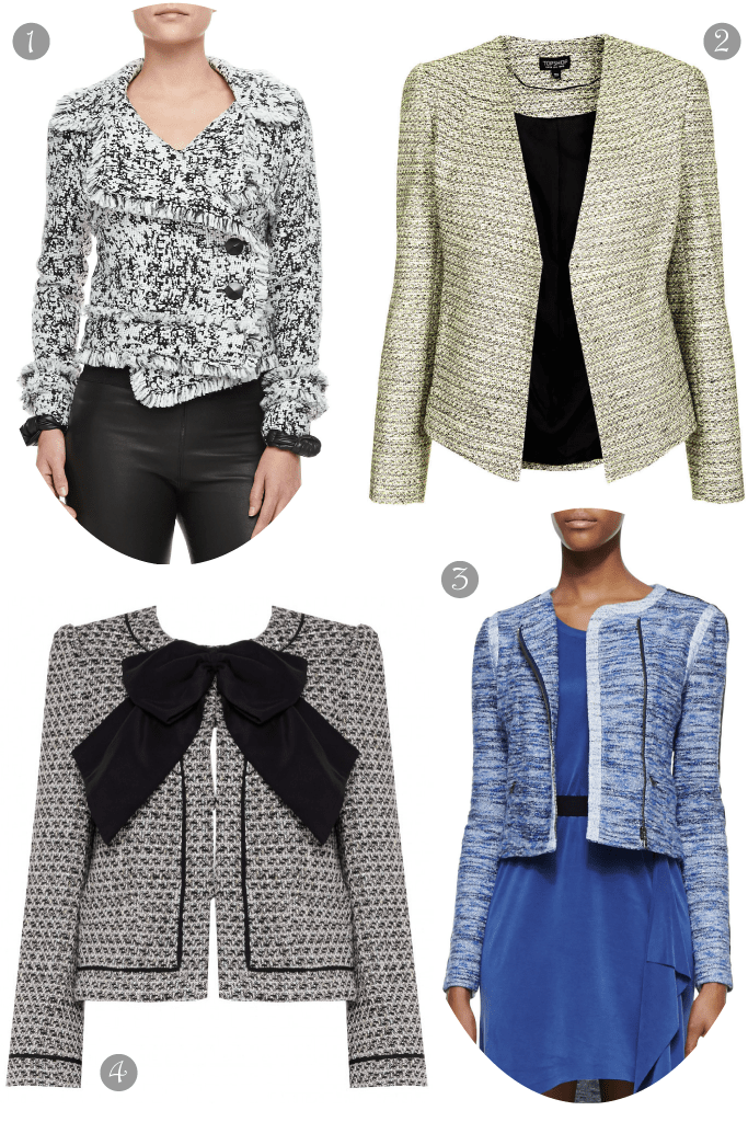 Everyday Staple: The Boucle Jacket