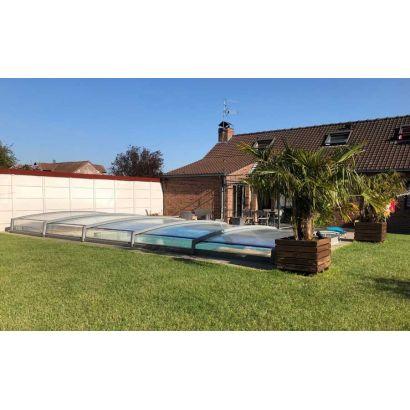 abri bas piscine en kit 30 cm distri cover clear
