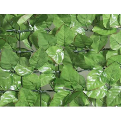 haie artificielle feuilles de rosier
