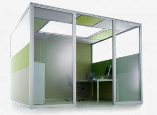 trabajar en silencio preform-raumsystem-decato-dp50-volume_kabinen4950x700