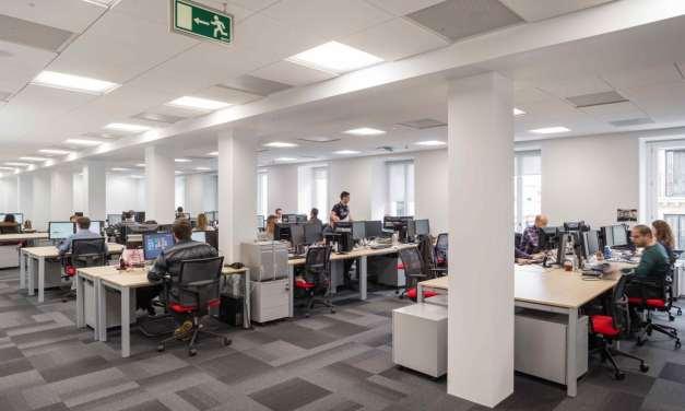 Ultima+ y Optima: el techo de los techos para oficinas
